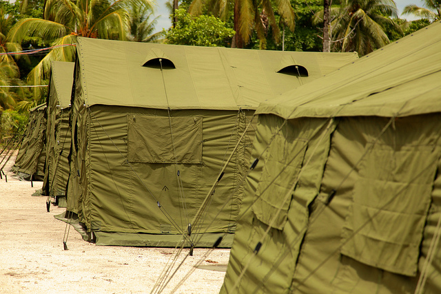 Manus Island regional processing facility. Image by DIAC images on flickr.