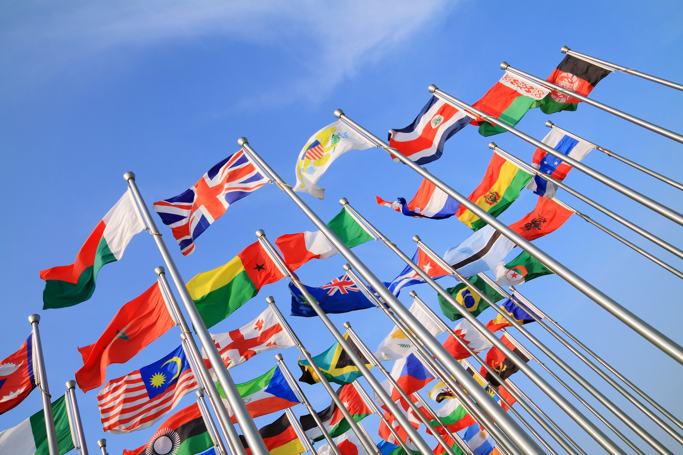 Flags- Images by Thinkstock