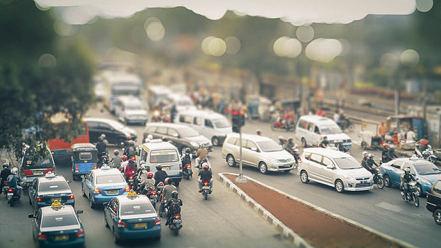Traffic congestion in Jakarta has given policymakers a challenge.