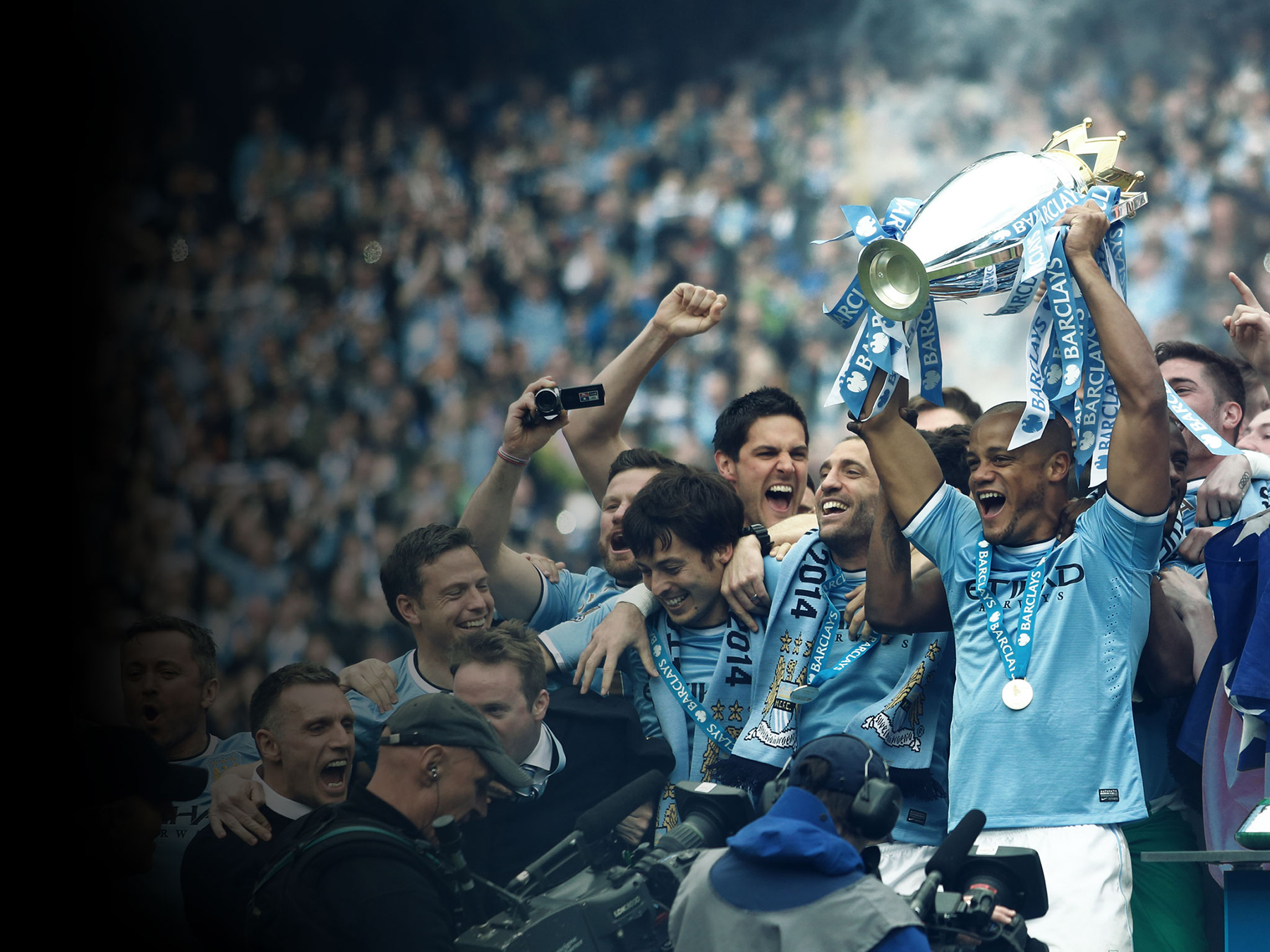 Former English Premier League Champions Manchester City FC are now part-owned by Chinese investors. Image courtesy Manchester City FC.