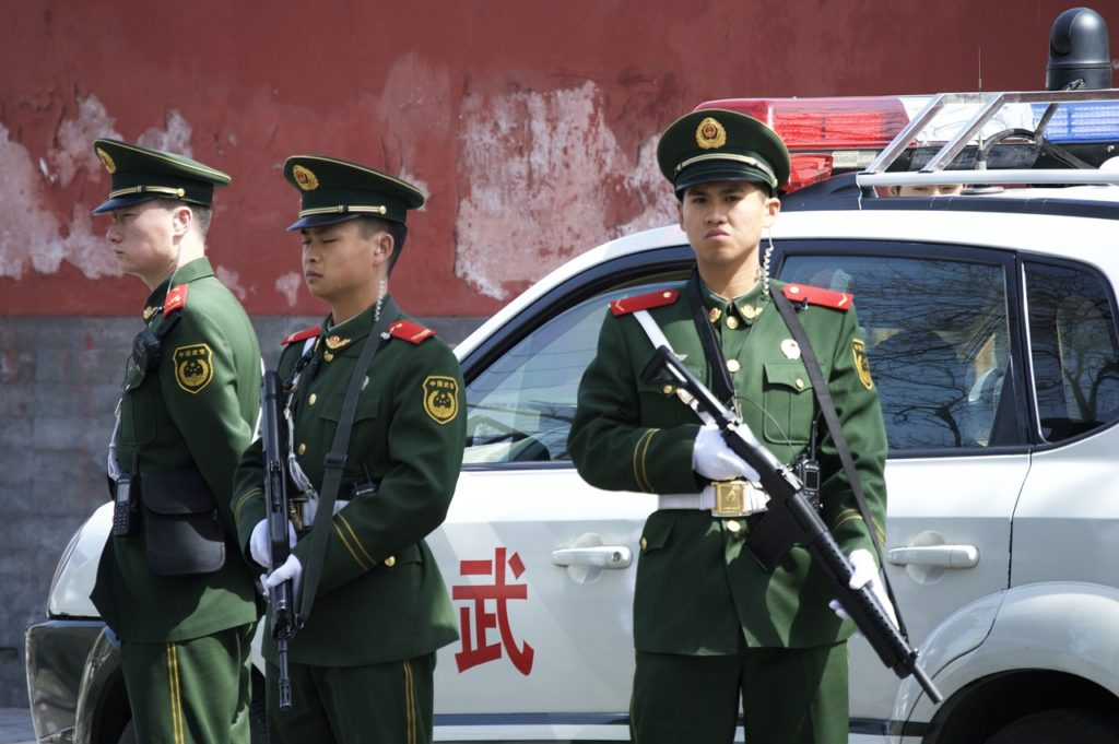 Image by Pixabay. https://pixabay.com/en/police-duty-official-china-beijing-754567/