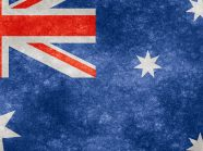 Australian flag grunge cropped 1