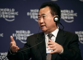 DALIAN/CHINA, 12SEPT09 - Wang Jianlin, Chairman and President, Dalian Wanda Group, speaks during the Success versus Survival in a Global Downturn session at The World Economic Forum Annual Meeting of the New Champions in Dalian, China 10-12 September 2009.  Copyright World Economic Forum (www.weforum.org/Natalie Behring)