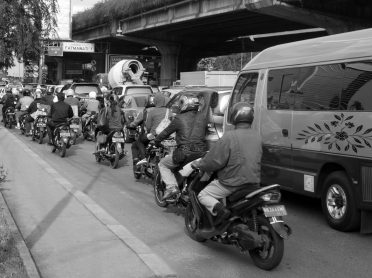 Jakarta's traffic has given the city's policymakers a challenge.