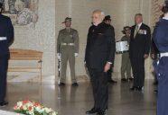 The Prime Minister, Shri Narendra Modi at the Australian War Memorial, in Canberra, Australia on November 18, 2014